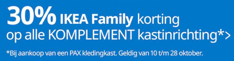 30 Korting Op Ikea Komplement Bij Aankoop Van Een