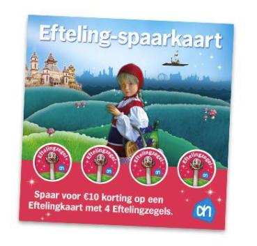 Albert Heijn Efteling Spaarkaart.Efteling Tickets Met 10 Korting Door 4 Efteling Zegels Bij Albert Heijn
