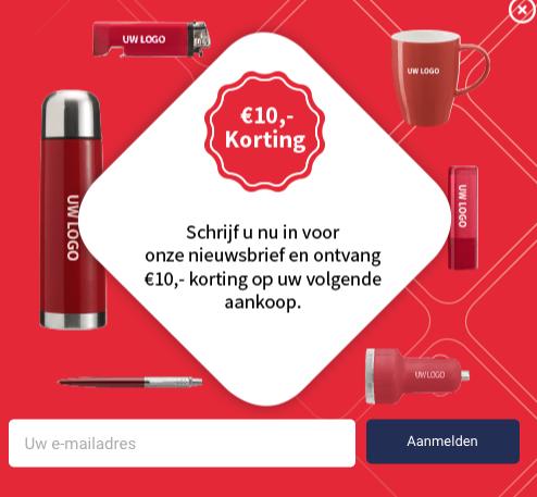 10 euro korting op je bestelling