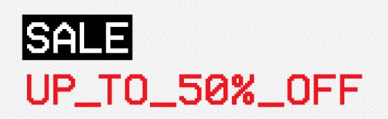 Offspring sale tot 80% korting