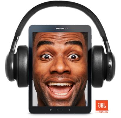 Bij aankoop Samsung Tab S2 9.7 of Tab S3 9.7 Gratis JBL hoofdtelefoon