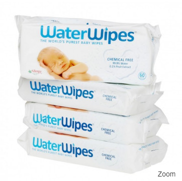 WaterWipes Billendoekjes 4-pack voor €8,80 dmv code