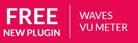 Gratis Waves VU Meter VST plugin