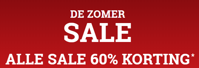 Abercrombie & Fitch sale met 60% korting