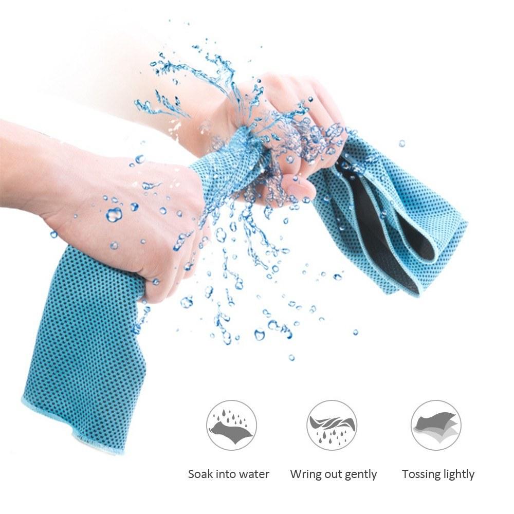 AONIJIE 100*30cm Instant Cooling Ice handdoek voor €3,39