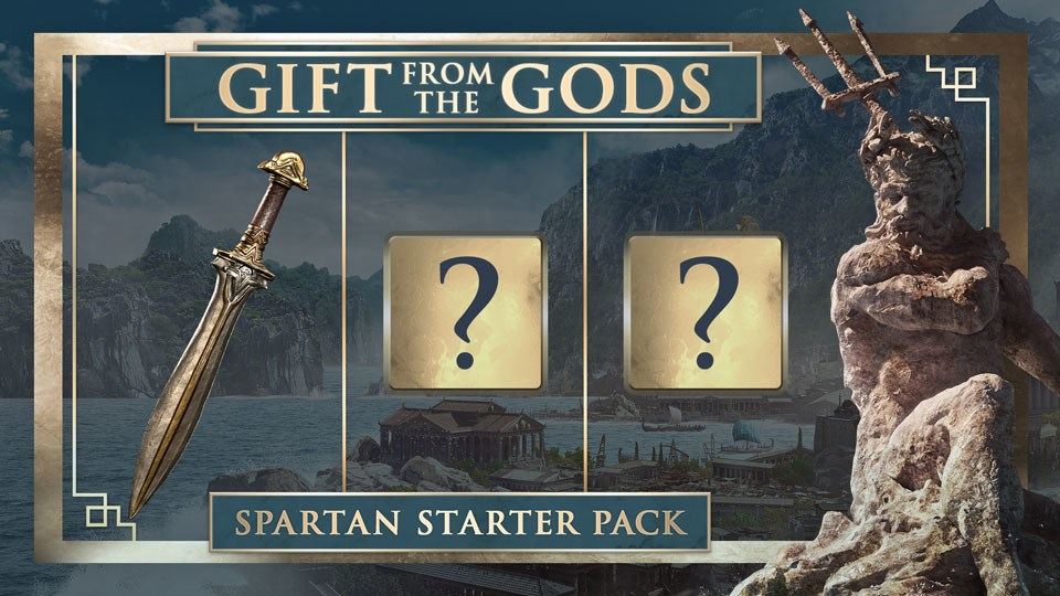 Spartan Starter Pack DLC voor Assassin's Creed Gratis