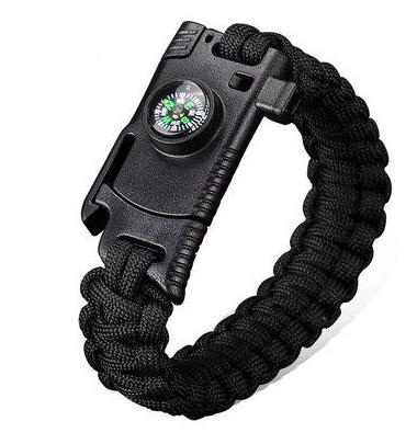 4 In 1 EDC Survival Bracelet Outdoor Emergency 7 Core Paracord voor €1,46