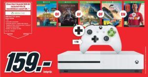 Xbox One S 1TB + Fifa 18 met extra game voor €159