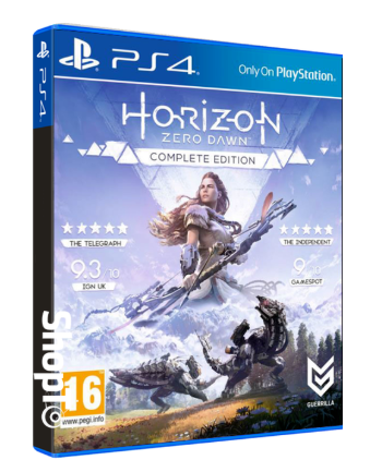Horizon Zero Dawn - PS4 Complete Edition voor €33,50