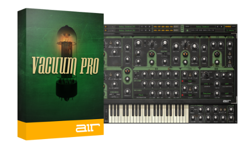 Vacuum Pro Analog Synth by AIR Music voor €1,14