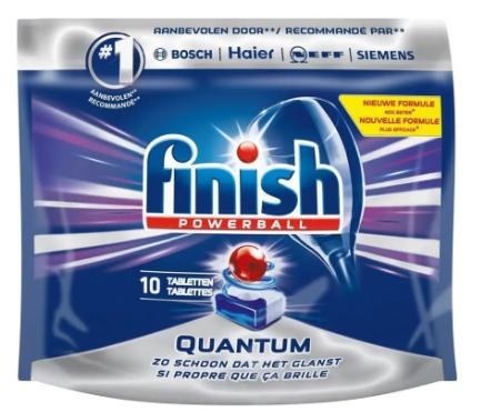 Finish Quantum Vaatwastabletten 10 stuks voor €1