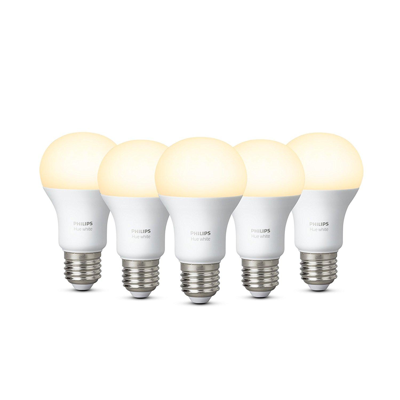 Philips Hue White E27 LED 5 stuks voor €76,13