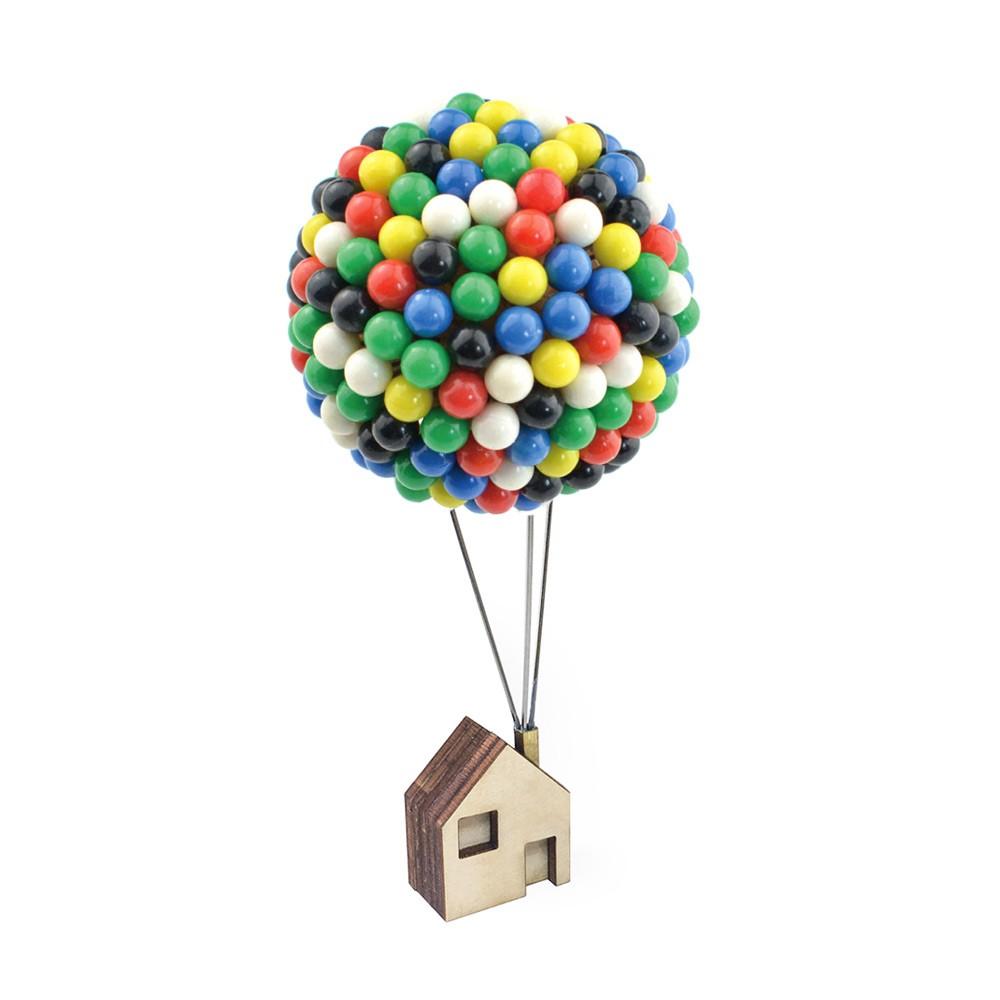 350 stk kopspelden Ballon Pin House voor €6.63