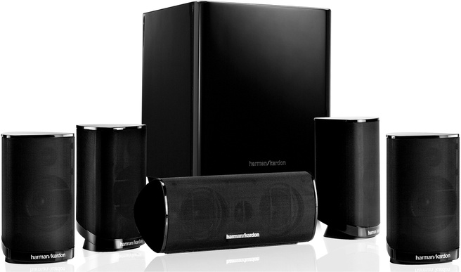 Harman Kardon surround speakerset HKTS5 BK voor €199