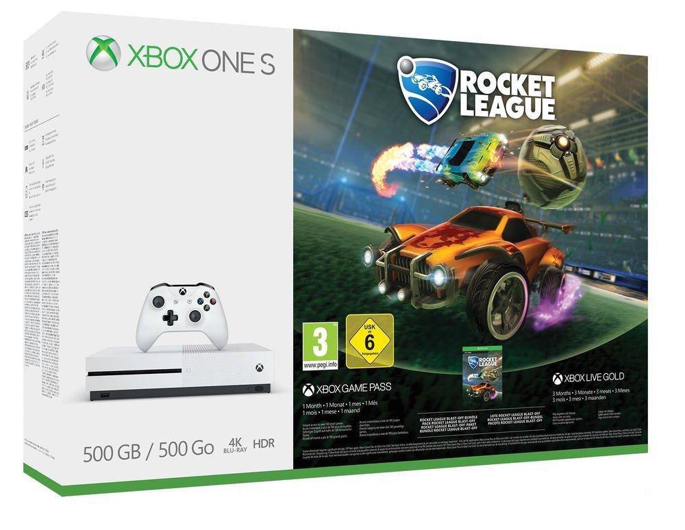 Microsoft Xbox One S 500GB  + Rocket League voor €169