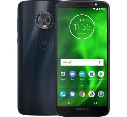 Motorola Moto G6 - 32 GB - Deep Indigo + gratis bluetooth headset voor €219