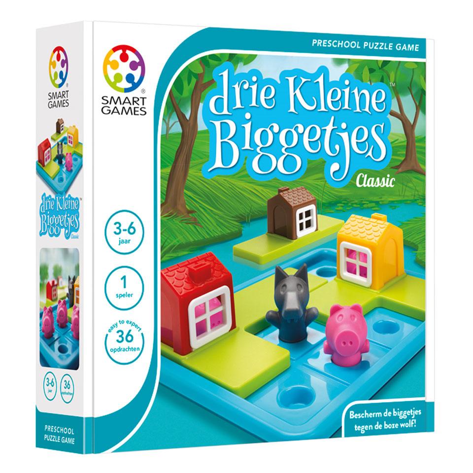 Spel Drie Kleine Biggetjes (36 Opdrachten) voor €9,98