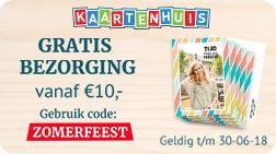 Gratis bezorging vanaf 10 euro