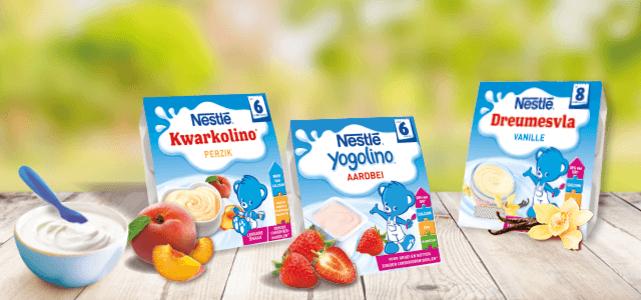 Probeer Nestlé babytoetjes van €2,39 voor €1 dmv cashback