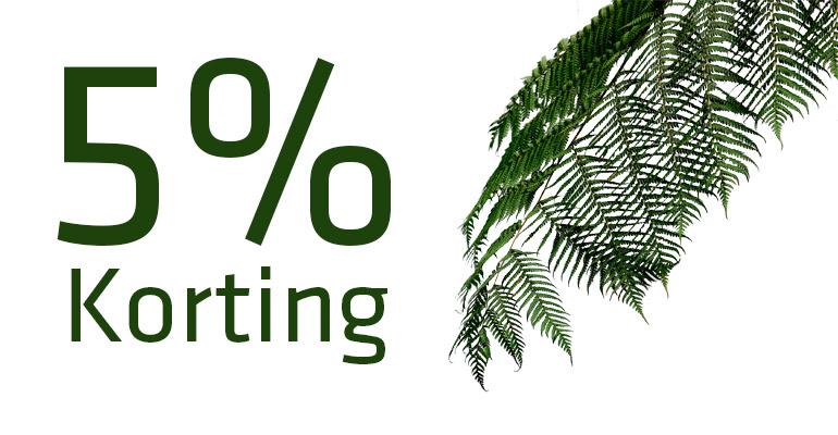 Kortingscode Salontopper voor 5% korting