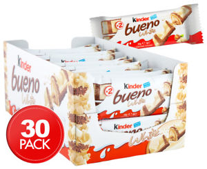 Kinder Bueno Ferrero white 3 repen voor €0,50