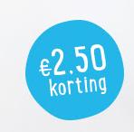 Greetz code voor €2,50 op alle foto en tekstcadeaus