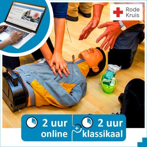 €15 korting op officiële reanimatiecursus