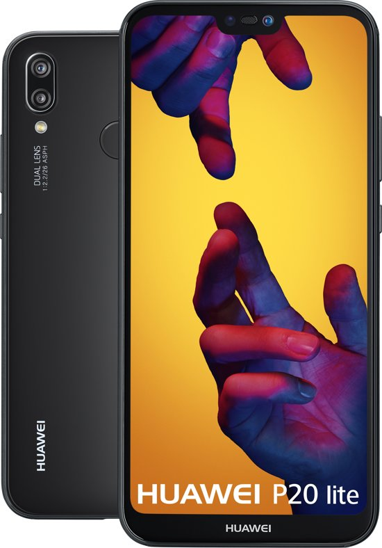 Huawei P20 Lite - 64GB - Dual Sim i.c.m. 1-jarig abonnement voor €221,44