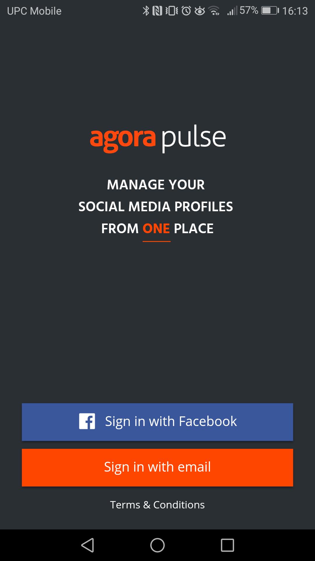 facebook mobile log in