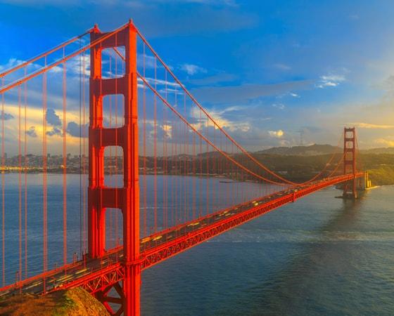 טיול משפחות מאורגן לפארקים וקניונים בארצות הברית - גשר הזהב - UFS