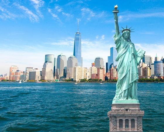 טיול מאורגן לארצות הברית - ניו יורק, פסל החרות - UST