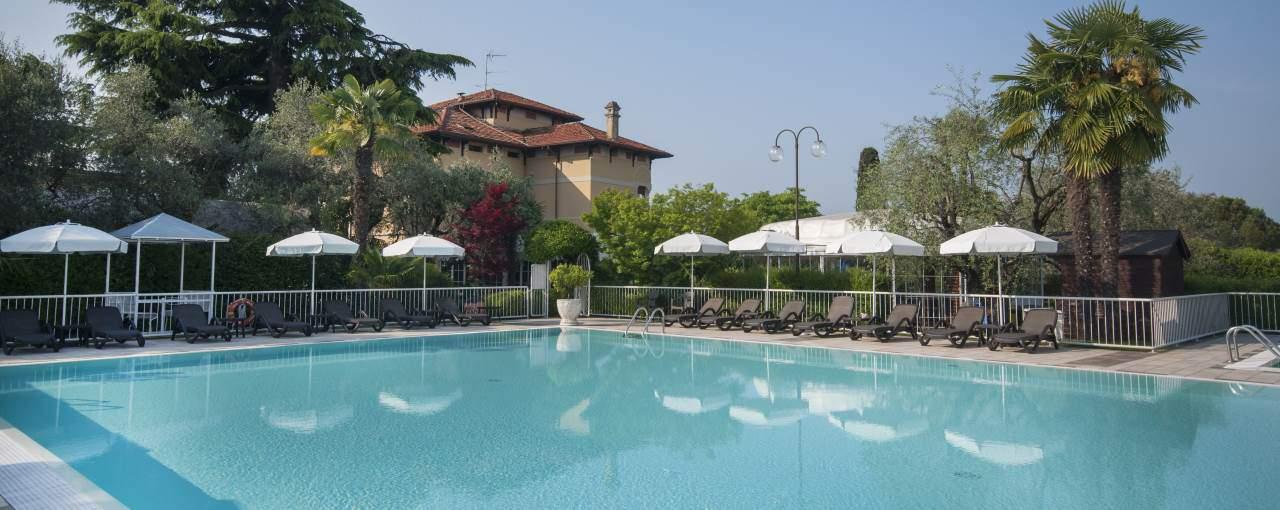 מלון וילה מריה באגם גארדה איטליה