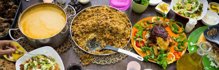 ארוחה בצום הרמדאן דובאי