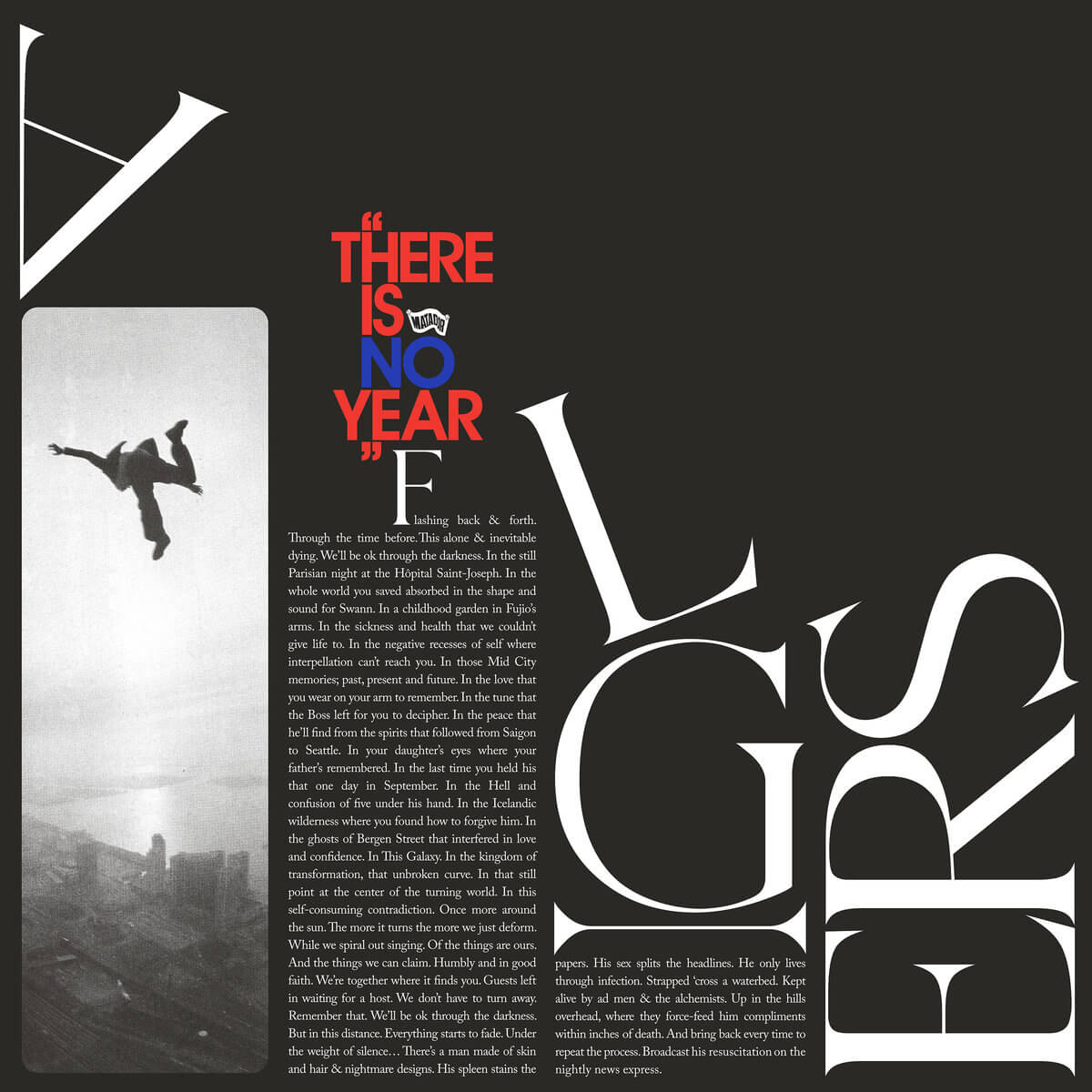 There Is No Year cover