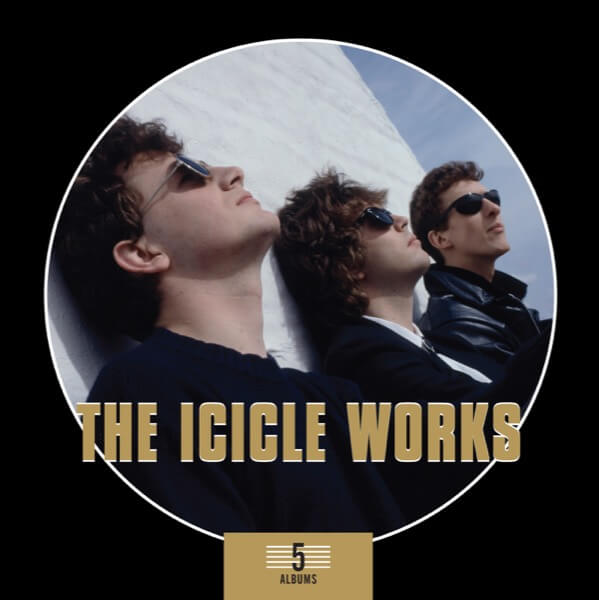The Icicle Works - 5 cd box
