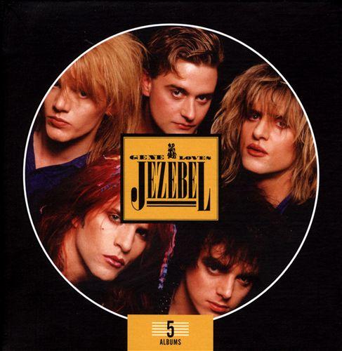 Gene Loves Jezebel - 5 cd box
