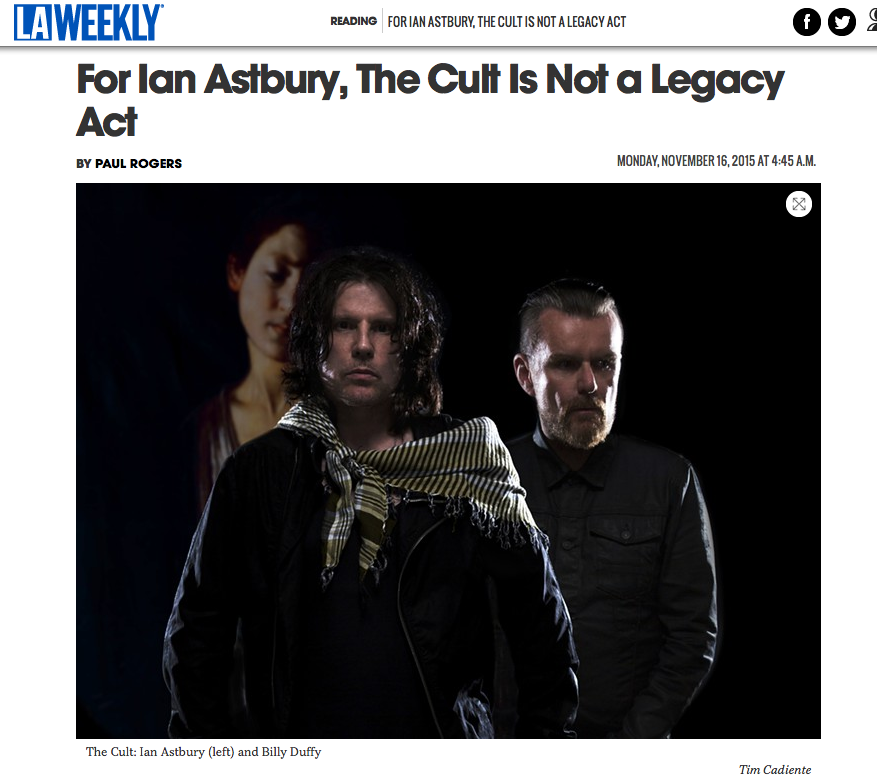 For Ian Astbury, The Cult Is Not a Legacy Act
