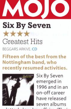 <b>Mojo</b> album review - Greatest Hits
