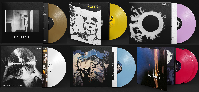 Bauhaus - coloured vinyl reissues