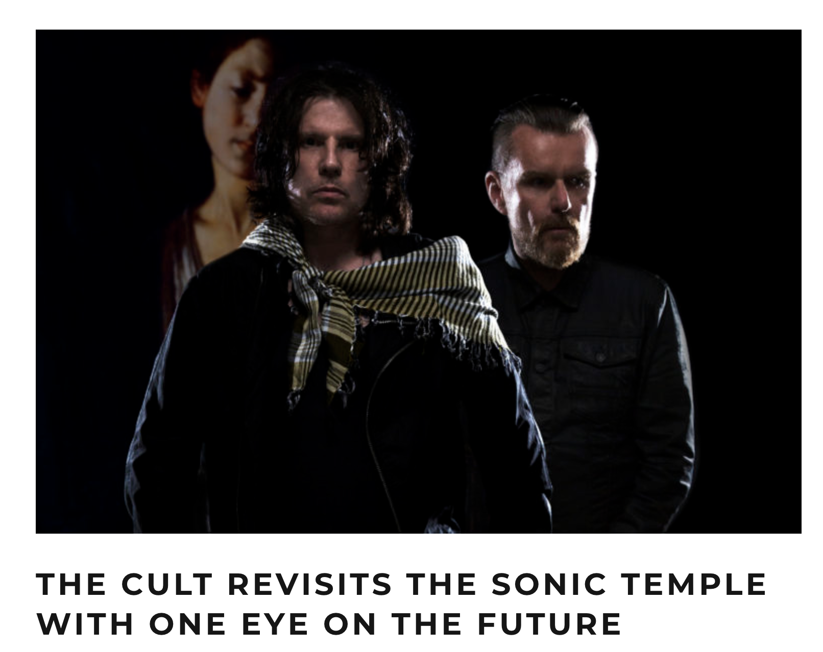 LA WEEKLY - THE CULT REVISITS THE SONIC TEMPLE WITH ONE EYE ON THE FUTURE