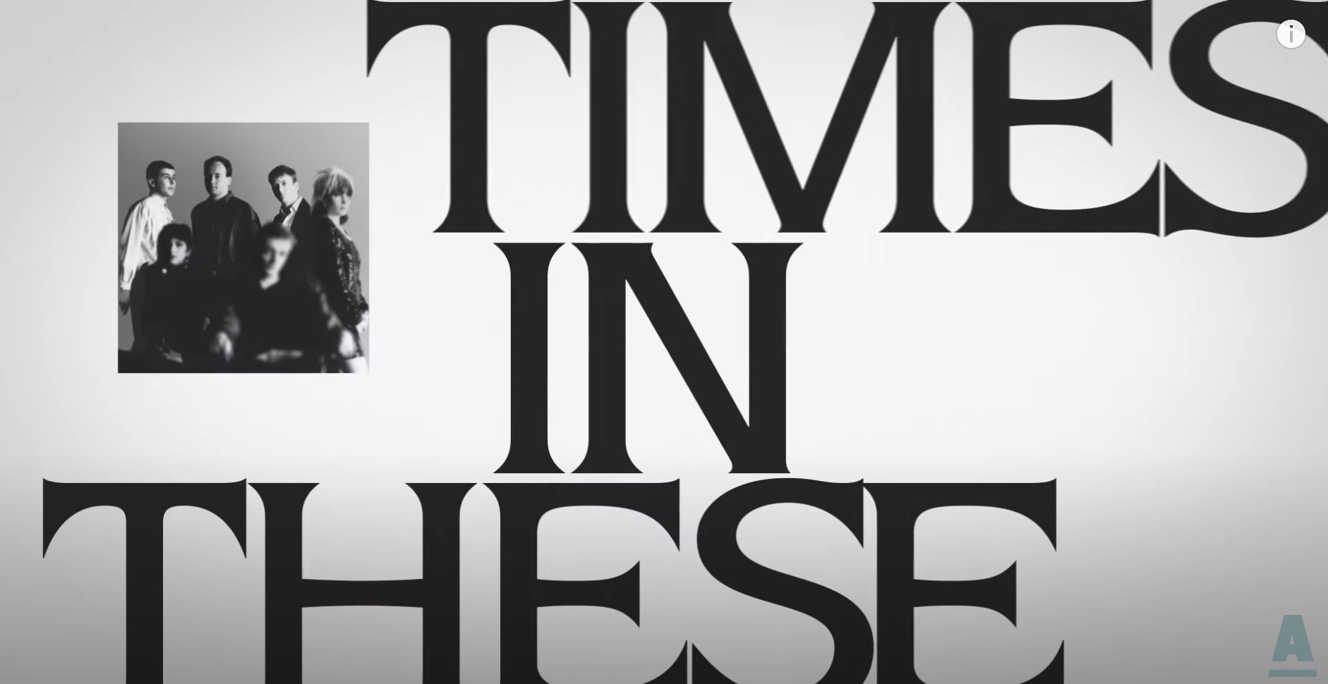 """The Fall – """"In These Times"""" lyric video"""
