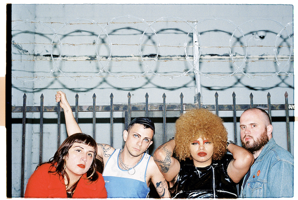 Special Interest join Rough Trade and share new video