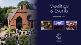 Meeting events brochure image
