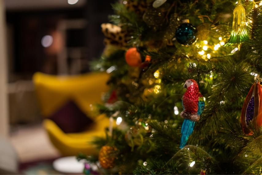 Christmas decor clandeboye lodge