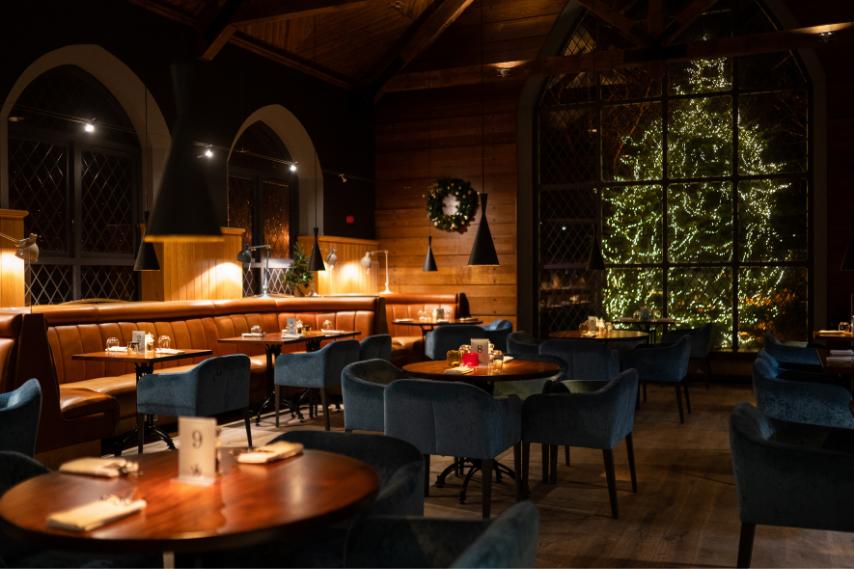 Christmas dining clandeboye lodge