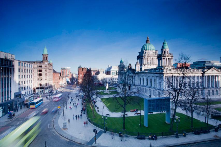 City life belfast city hall