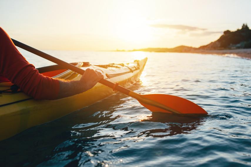 Sports kayaking