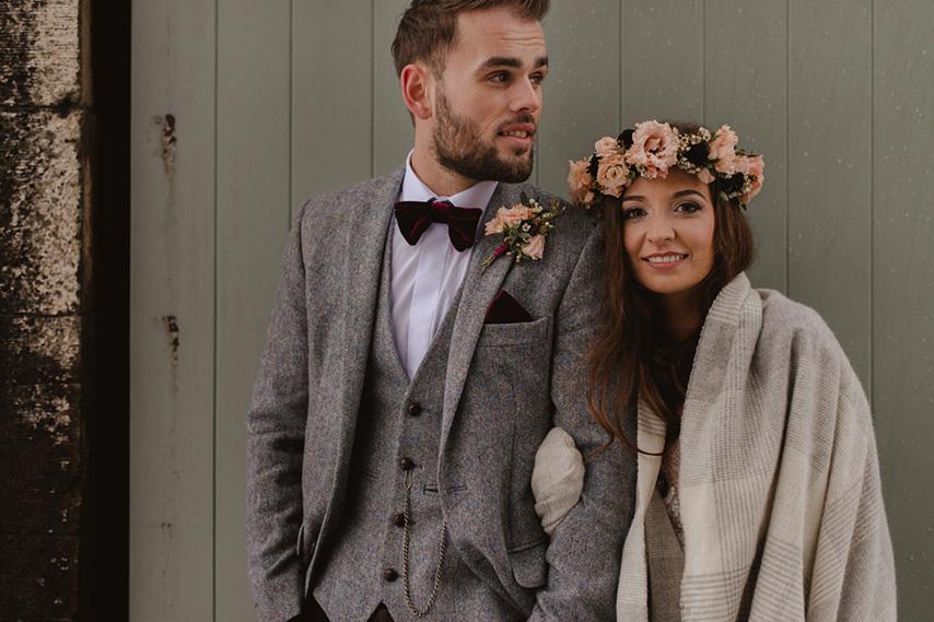 Clare robert wedding 1