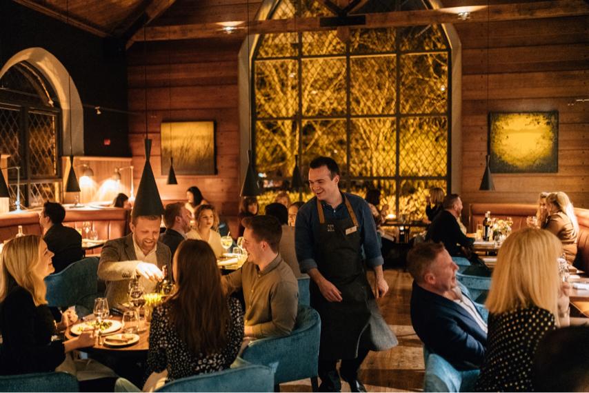 Fine dining clandeboye lodge