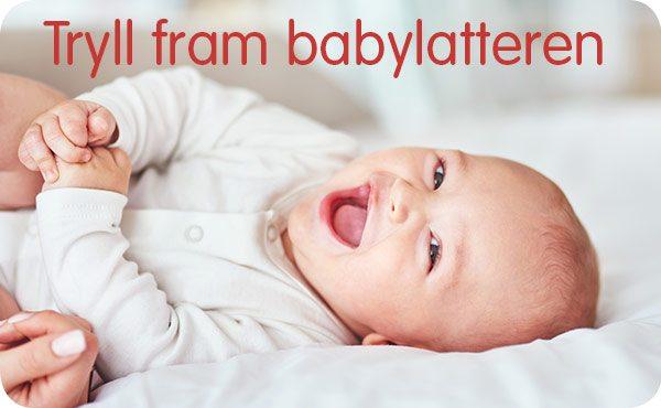 Leker som får barnet til å le